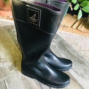 Sperry Top Sider Long Rain Boots